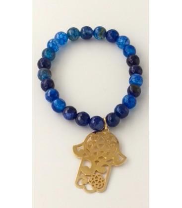 bracelet pierre main de fatima