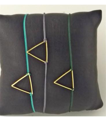 Bracelet été-triangle