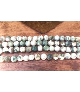 Bracelet en green spot stone