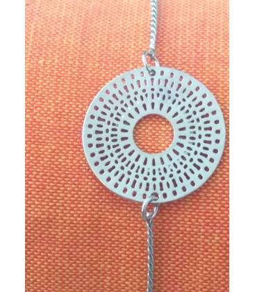Bracelet rond avec motifs