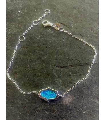 Bracelet opale hamsa