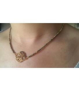 Collier noeud celte
