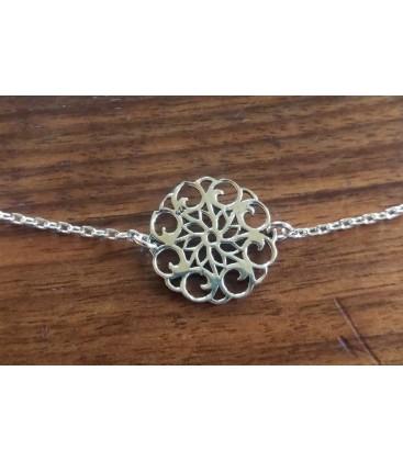 Bracelet arabesque fleur