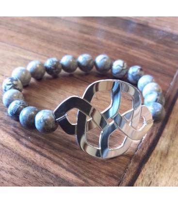 Bracelet noeud Argent