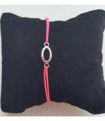 Bracelet ovale cordon