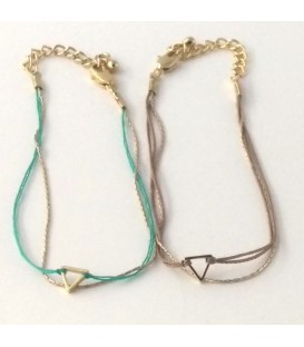 Bracelet plage-triangle